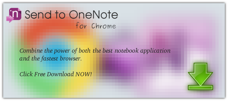 Send to OneNote for Chrome