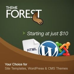Site templates Wordpress and Joomla and CMS themes