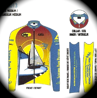 SPP Long Sleeve Jersey and Jacket Layout