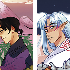 Bookmarks designs of Inuyasha characters (TV show)