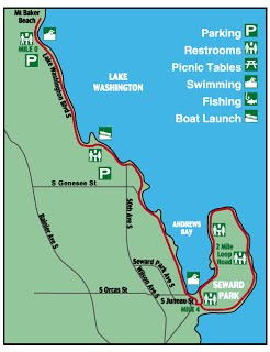 Seward Park Map Contact Us   Seward Park Torii Seward Park Map
