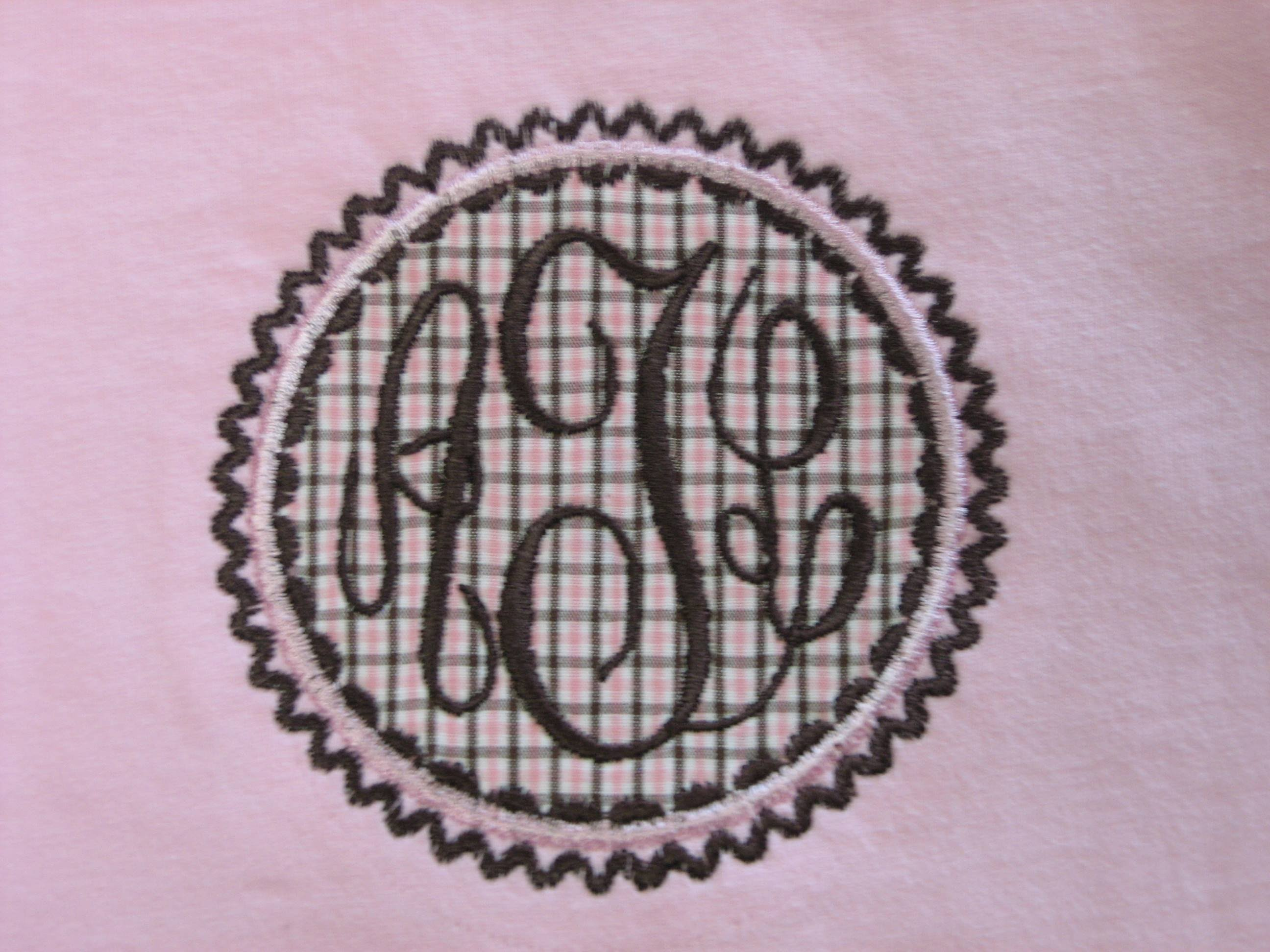 Sew Personal Applique Fonts Patches Amp Frames