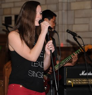 Lead singerand guitarist from Battle of the Bands V