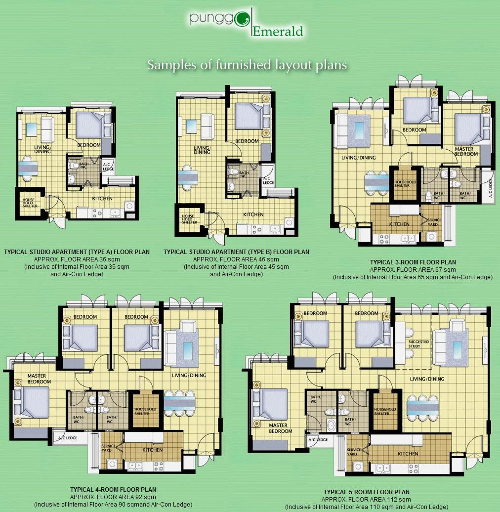 Stunning Furbished layout Floor plans Click on images to enlarge