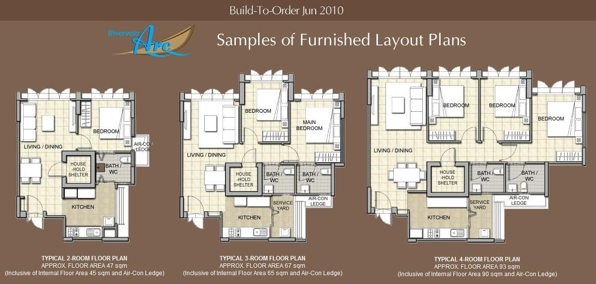 Beautiful Furbished layout Floor plans Click on image to enlarge