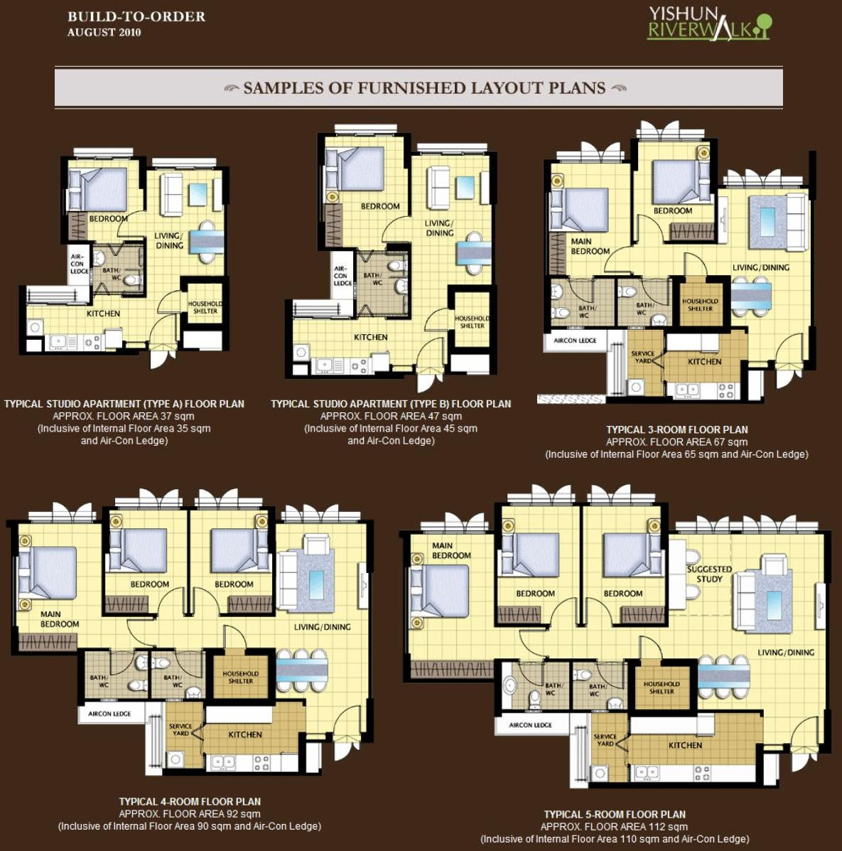 New Furbished layout Floor plans Click on image to enlarge