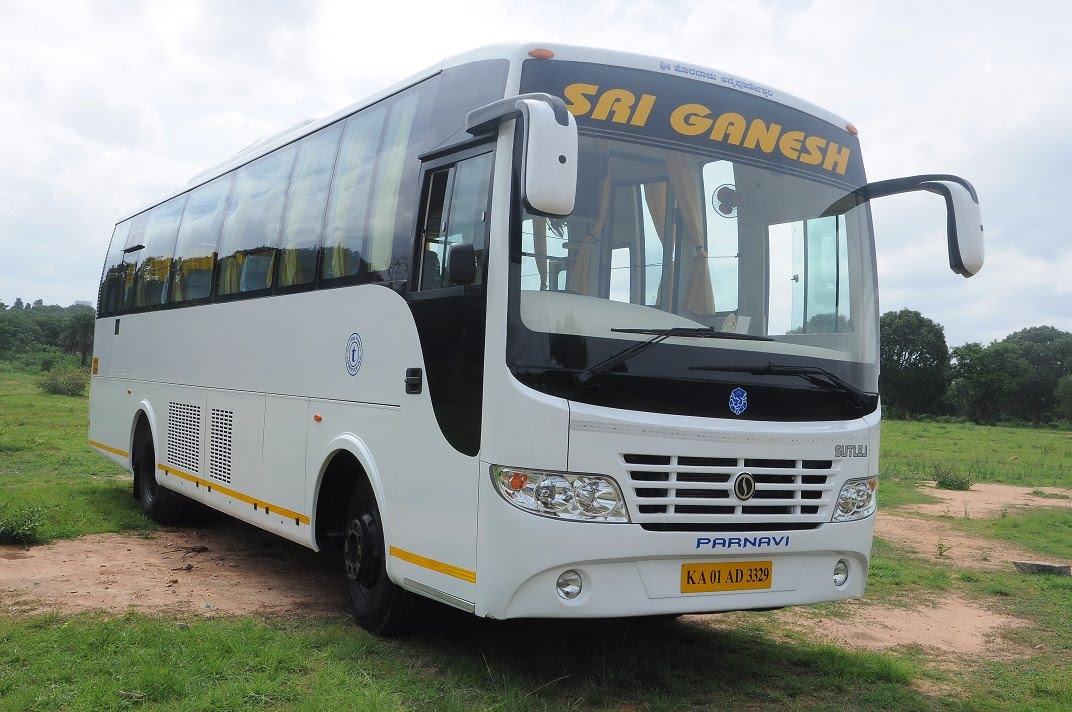 35 Seater Luxury Ac Or Non A C Buses Hire In Bangalore S G Rent A