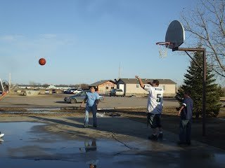 SGU Students Playing Basketball
