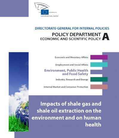 Impacts of shale gas and shale oil on the environment and human health