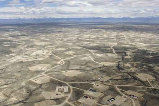 Landscape impacts of oil and gas development