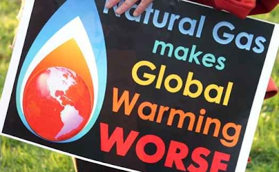 Natural Gas Makes Climate Change Worse