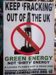 Keep Fracking Out Of The UK