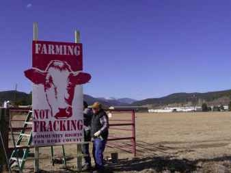 Farming not fracking