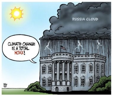 Trump: Climate change is a total hoax