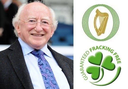 President Michael D. Higgins signed the Irish fracking ban into law