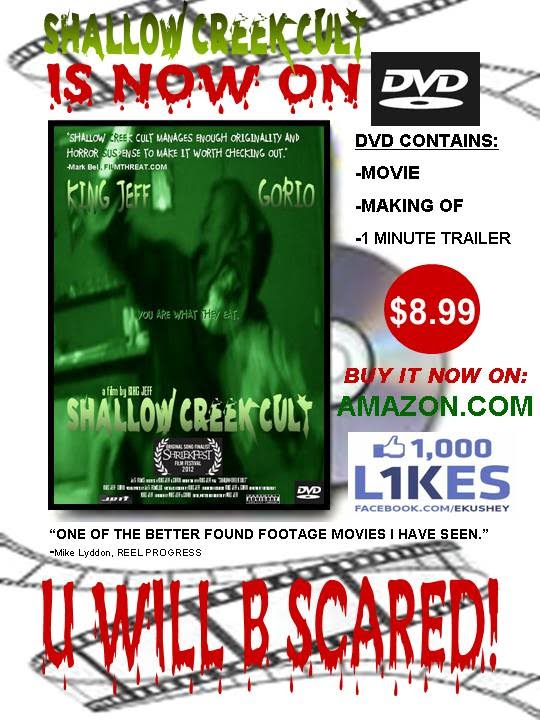 Buy Shallow Creek Cult DVD for $8.99 on amazon.com