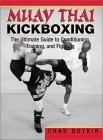 Muay Thai Kickboxing : The Ultimate Guide To Conditioning, Training, And Fighting In the most comprehensive guide available for entry into the fast-growing sport of Muay Thai kickboxing, personal trainer, Thai boxing coach and experienced fighter Chad Boykin leads you through every aspect of the game. Whether you long to test your mettle in the ring or simply get in the best shape of your life, this book will show you how. With clear, instructive photos and descriptions, Boykin demonstrates the conditioning exercises that provide the foundation for the power and speed of Muay Thai. Then he takes you step by step through the brutal elbow and knee strikes, punches, clenches and kicks that form your offensive arsenal, plus the blocks and evasion techniques that will confound your opponent. Training drills teach you to flow from one move to the next with accuracy and confidence. A veteran of the ring, Boykin gives novice fighters inside information on what to expect and offers advice on fighting styles and strategies. Whether you've been participating in kickboxing for years or are new to the sport, this book will give you the edge you need to succeed.