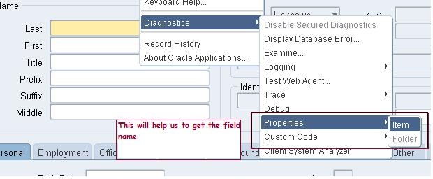 4) Form Personalization - How to Change Field Name - Shareapps4u