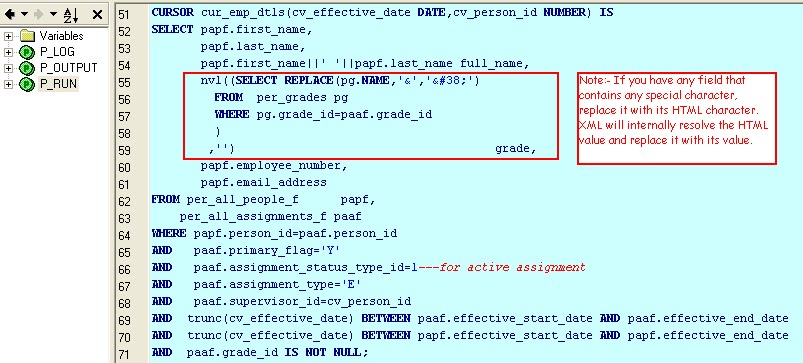 3) How to Use XML Bursting to Send XML Report via Email - Shareapps4u