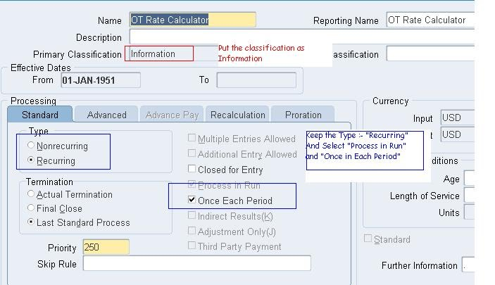 12) How to Add Element Value in Oracle Online Payslip - Shareapps4u