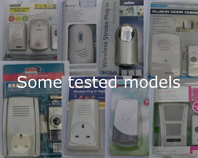 tested cordless doorbells