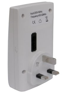 back of door chime receiver