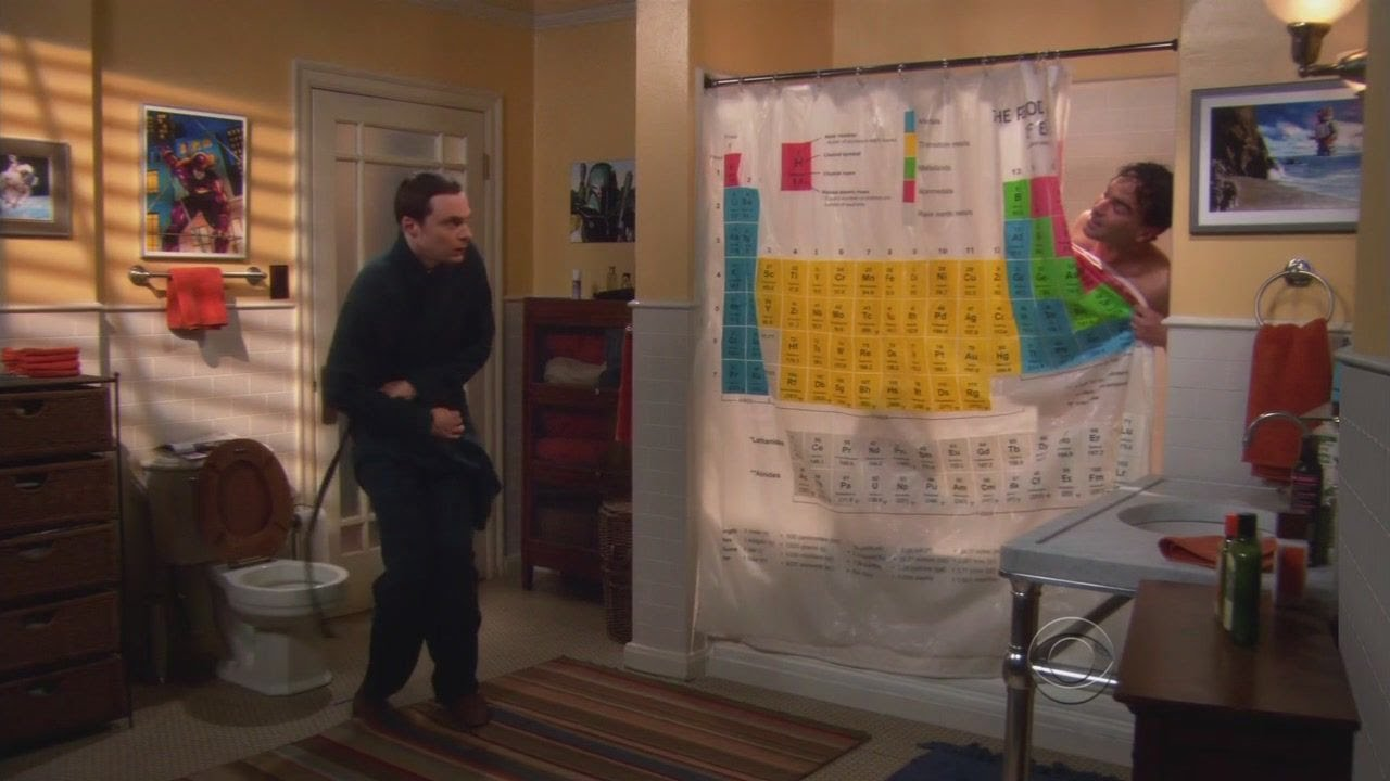Bathroom Sheldon Fan Site