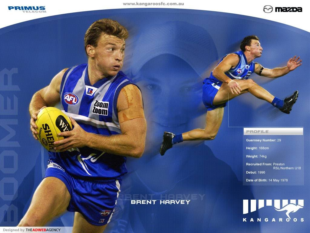 Brent harvey height