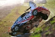 Craig Lowndes crash at Calder Park