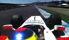 Toyota F1 driven by Ricardo Zonta breaks the Laguna Seca lap record