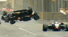 F3 Crash - 2009 Macau GP