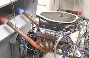 F1 Honda Engine Test
