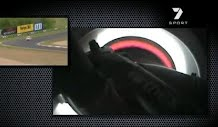 Rare onboard footage