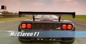 Murray Walker drives the Mc Laren F1