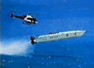 Offshore powerboat racing world record Sydney-Hobart