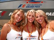 Amazing girls of Formula 1