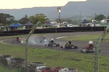 Taken out at wollongong-raceway