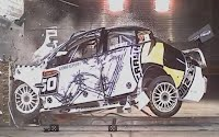 V8 Supercar Crash Test