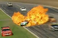 V8 Supercars Barbagallo Crash 2011