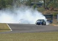 Shane Van Gisbergen Drift Celebration