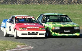 Nissan R31 Vs Army Reserve Ford Falcon