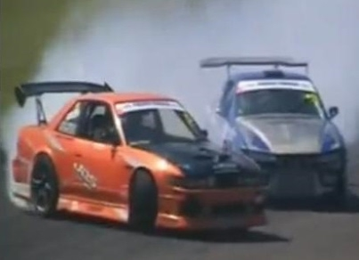 drift australia crashes from oran park