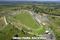 Last Superkart race at Oran Park