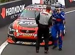 Ambrose and Murphy Bathurst Crash