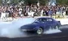 RX 7 burn out AND blown engine