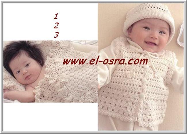 فساتين كروشية للرضع مع البترون 2015 ملابس كروشية جديدة للأطفال 674695519176329268.j