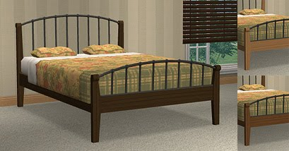 Best  OTTOMANO DOUBLE BED download mesh and recolors
