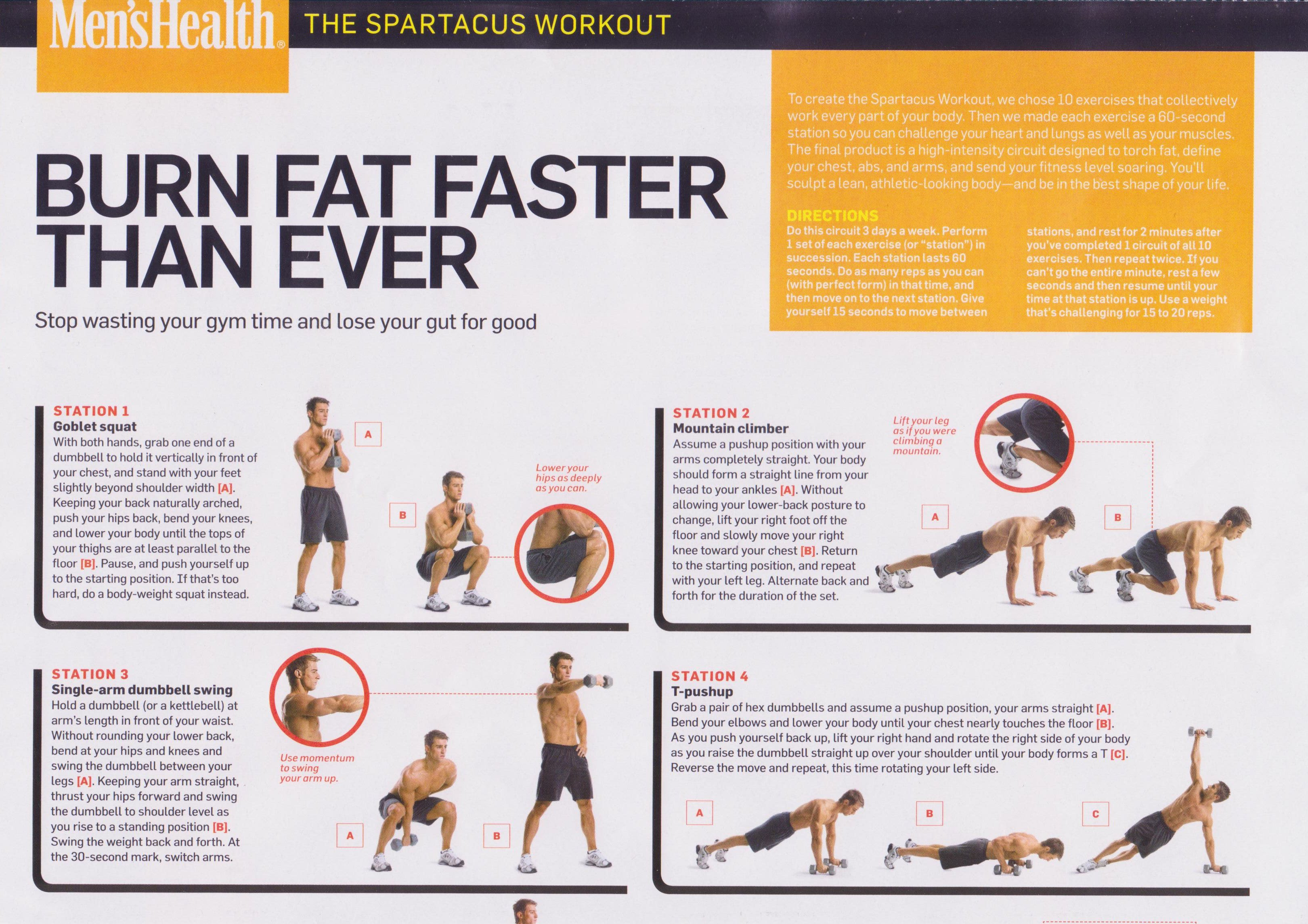 graphic about Spartacus Workout Printable named The Spartacus Difficulty -