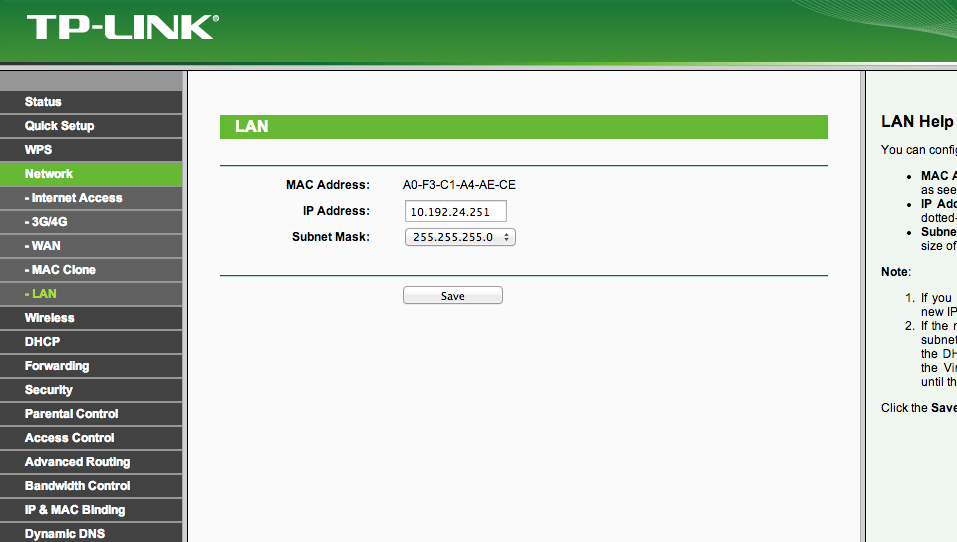 Connect Internet Service With TP Link TL-MR3220 Router ...