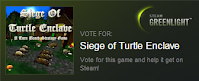 Siege of Turtle Enclave on Greenlight